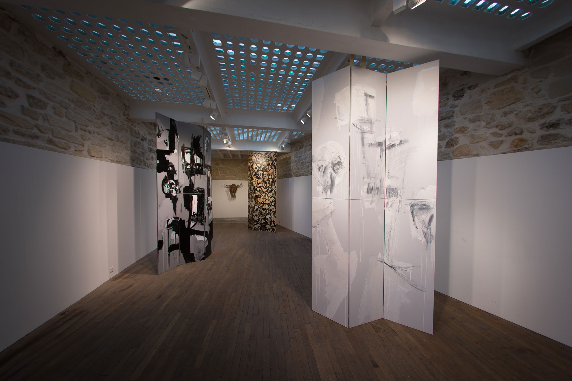 Salle-labyrinthe_Raphael-Thierry_Galerie-Ariane-CY